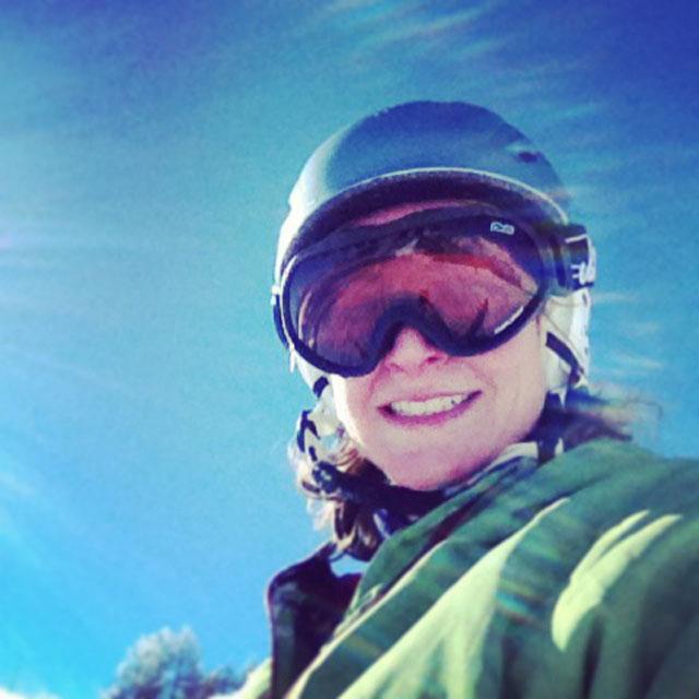 Keren Lerner - on Snowbizz holiday
